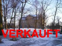 Schloss Brandenburg, Kreis Prignitz, bei Perleberg: Barockschloss mit guterhaltener Barock Struktur, sanierungsbedürftig