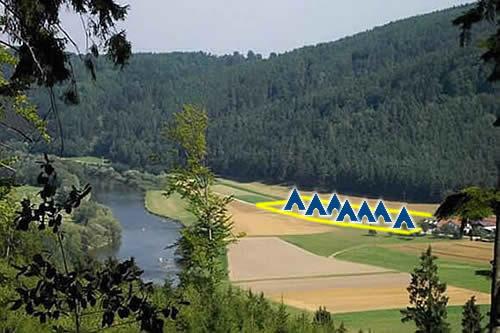 verkauf campingplatz gel nde mit planung und genehmigung regental oberpfalz bayern. Black Bedroom Furniture Sets. Home Design Ideas