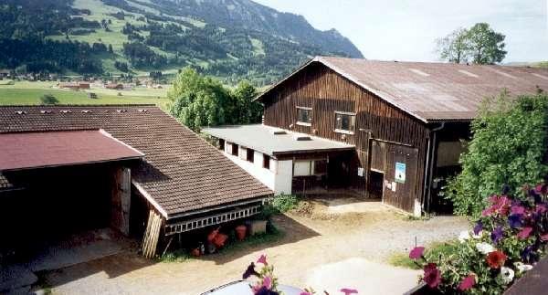 Reiterhof: Scheune, Stall, Reithalle :Reiterhof / Bauernhof Allgäu : Verkauf Bauernhof / Reiterhof im Kreis Oberallgäu