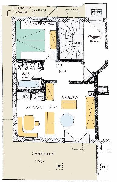 immobilien iffeldorf penzberg verkauf wohnung etw mit garten in iffeldorf bei penzberg. Black Bedroom Furniture Sets. Home Design Ideas